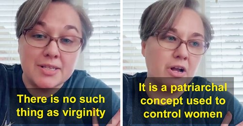 Mother praised by netizens for teaching her daughter that virginity does not exist