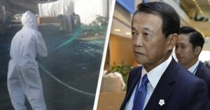 The Japanese deputy PM said Fukushima water is safe for human, Chinese asks him to drink that water