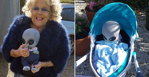 Pensioner said she was impregnated by aliens and was asked to raise an alien baby
