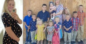 Mom of 11 who's been pregnant since she got married have a desire to have 14 children