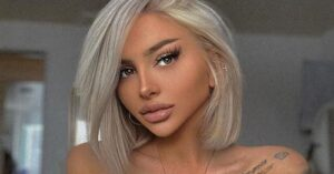 Beautiful model claims she is single  because people are scared to talk to her